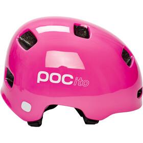 POC POCito Crane Casco Niños, fluorescent pink